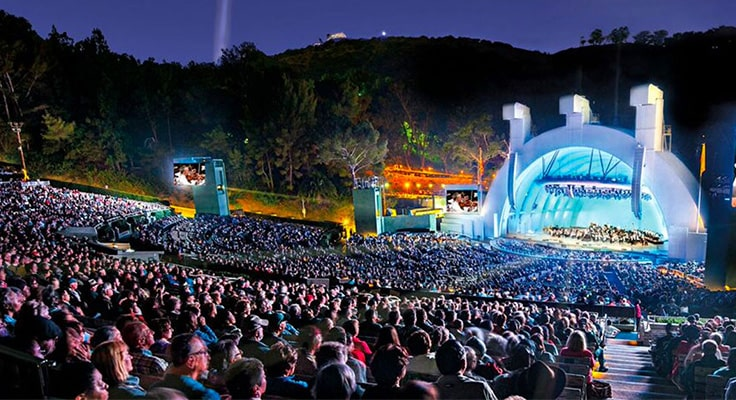 image of hollywood bowl for limo service page