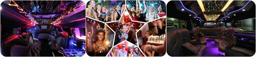 Fun birthday limousine to spend your special day in unique style