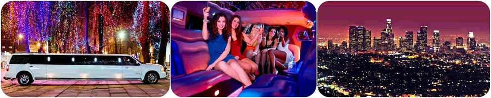 Night out limousine for you and your friends, family, and / or co-workers.