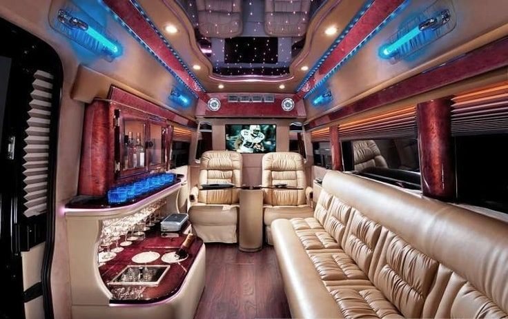 image is showing a party bus in San Francisco