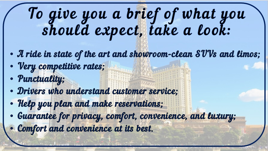 image is showing text about our limo service