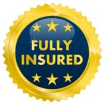 image is showing sign Fully Insured