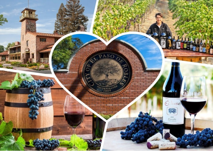 image is showing winery in Paso Robles, California