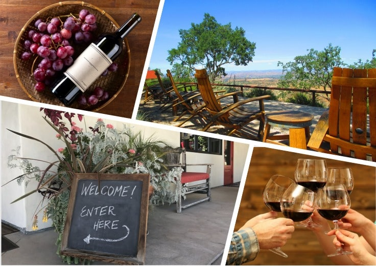 image is showing Le Cuvier Winery, California