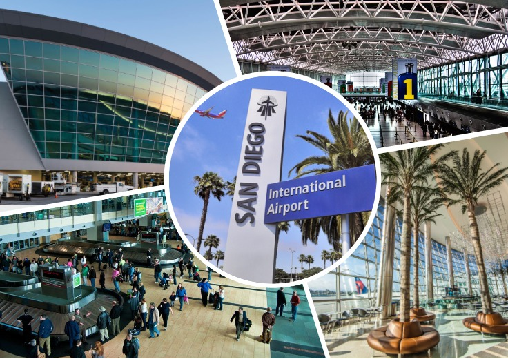 image is showing San Diego Internarional Airport
