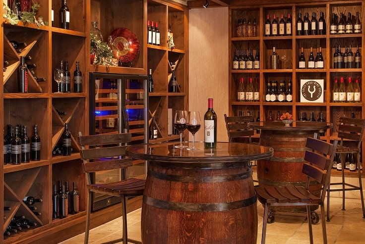 image is showing Wine Tasting Room in Santa Barbara, California