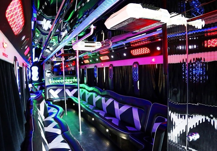 image is showing a party bus in Temecula