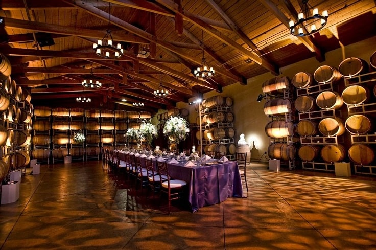 image is showing  wine tasting room