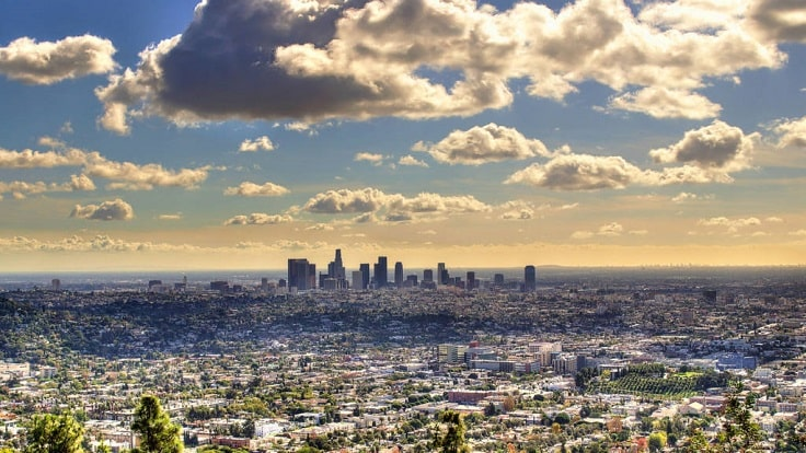 image is showing san fernando valley view